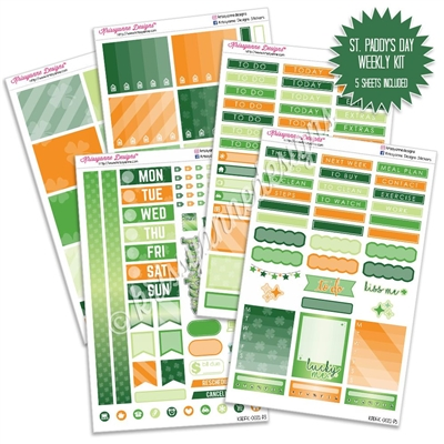 KAD Weekly Planner Kit - St Paddy