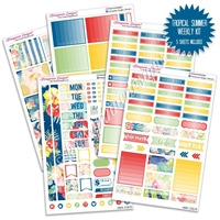 KAD Weekly Planner Kit - Tropical Summer