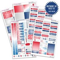 KAD Weekly Planner Kit - Independence Day