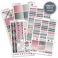 KAD Weekly Planner Kit - Fall Fashion Glitter