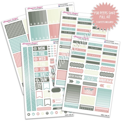 KAD Weekly Planner Kit - For Peeps Sake