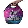 Two Sided Zippered Lunch Tote - Out of This World