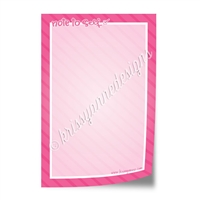 "4x6"" Note Pad - Note to Self"