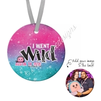 Round Ornament - I Went Wild 2018