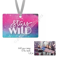 Rectangle Ornament - Stay WILD
