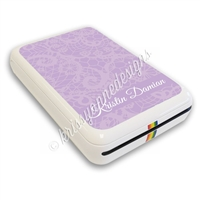 Polaroid Zip Decal - Lavender Lace
