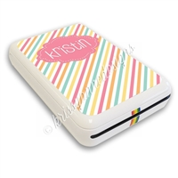 Polaroid Zip Decal - Candy Stripes