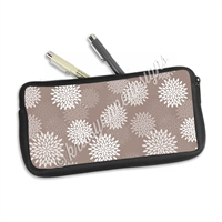 One Sided Zippered Pen Pouch - Mums