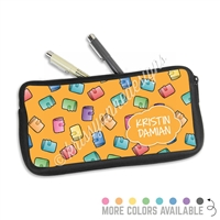 One Sided Zippered Pen Pouch - Planner Girl