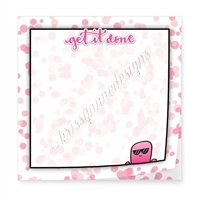 "Limited Edition 3"" Sticky Note Pad - Get It Done"