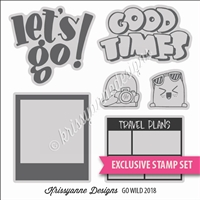 KAD Exclusive Stamp Set - Travel Documentation