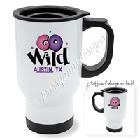 KAD Exclusive Travel Mug - GO Wild 2018 (Personalized)