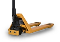 Debris Diverter for Pallet Jacks