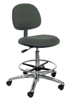 A45-FC, Economy Bench Height ESD Chair
