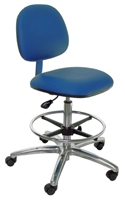 A45-VCON, Economy Bench Height ESD Chair