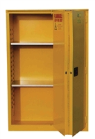 Series BF - Safety Flammable Cabinet with Bi-Fold Doors