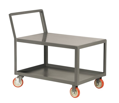 "CA11 - Low Profile Cart w/ Offset Handle - 18"" x 24"" Shelf Size"