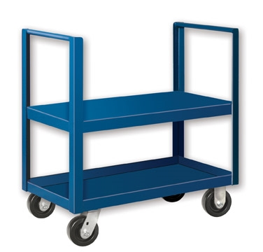 "Double Handle Low Profile Cart - 30"" x 36"" Shelf Size"
