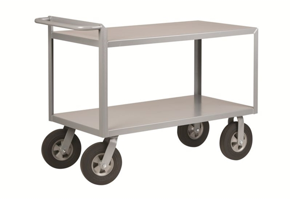 "CR19 - Cushion Load Low Profile Cart - 24"" x 48"" Shelf Size"