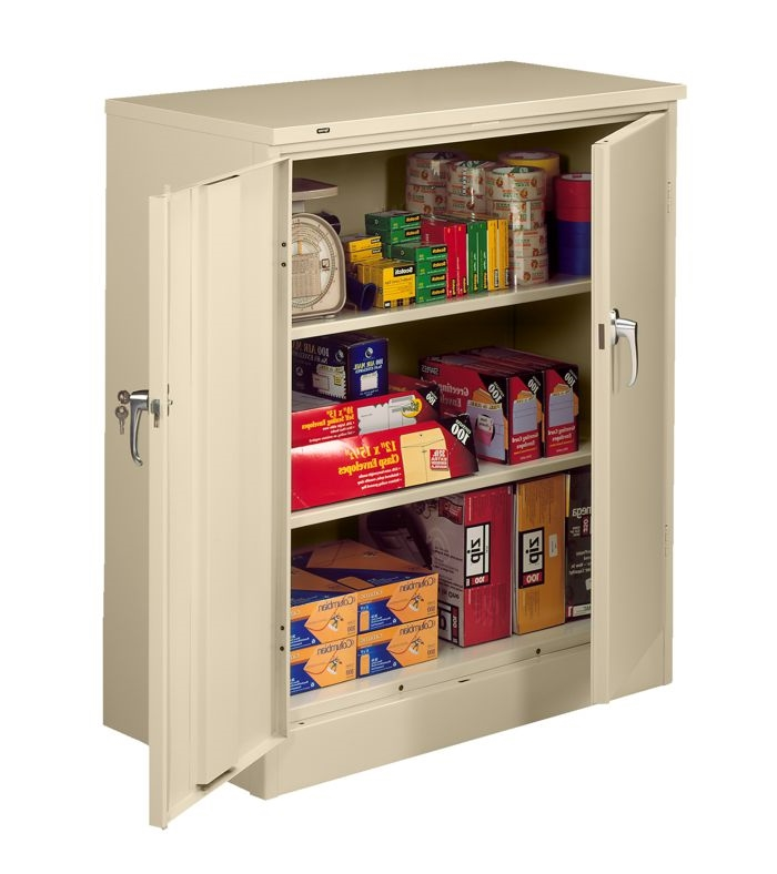 DCH17KD - Deluxe Counter Height Storage Cabinet, 24