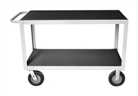"Angle Frame Instrument Cart - 24"" x 48"" Shelf Size"