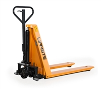 "Ergo Lift Manual Skid Lifter - 27"" Wide x 48"" Long Forks - 3,000-lbs Capacity"