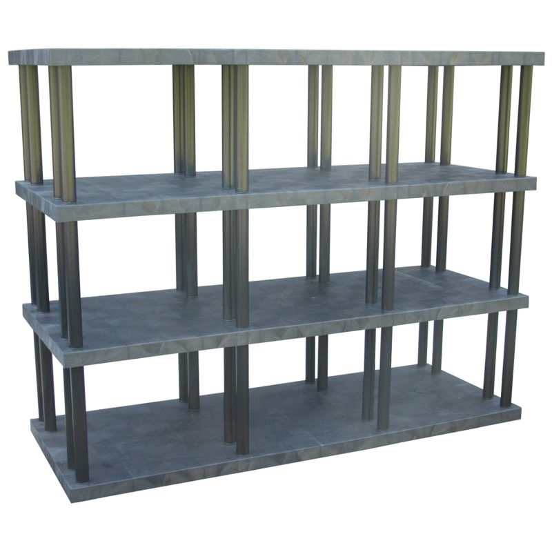 heavy duty plastic storage shelves strong plastic shelving. Black Bedroom Furniture Sets. Home Design Ideas