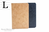 Clairefontaine Basic Life. Unplugged - Staplebound - 3.5 x 5 - Black & Tan