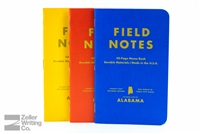 Field Notes 3-Pack - County Fair Edition - Alabama