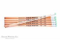 Field Notes No. 2 Woodgrain Pencils - 6-pack