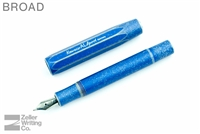 Kaweco AL Sport Fountain Pen - Stonewashed Blue - Broad