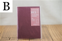Midori Traveler's Notebook - Passport Size - Refill 003 - Blank - Perforated