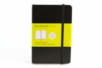 Moleskine Softcover Notebook Plain - 3.5in x 5.5in