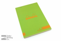 Rhodia ColoR Premium - 5.875 x 8.25 - Anis Green - Lined