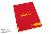 Rhodia ColoR Premium - 5.875 x 8.25 - Red - Lined
