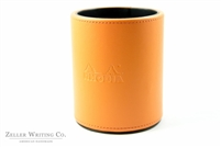 Rhodia Pencil and Pen Cup - Orange