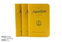 Word Notebooks 3-Pack - Adventure Log - Yellow