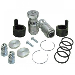"Hydraulic Coupler Conversion Kit - w/ 2  Male Coupler Tips, 7/8"" x 14 Thread, O-Ring Boss"