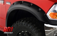 Dodge Ram HD 2500 3500 PRO-OFFROAD Bolt-On Style Fender Flares