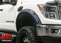 Nissan Titan 16-17 PRO-OFFROAD Bolt-On Style Fender Flares