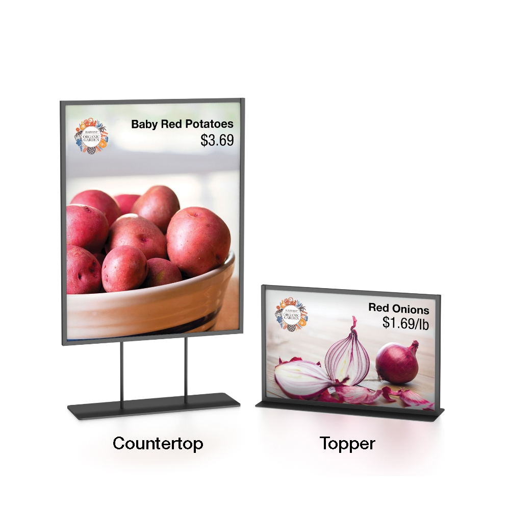 Table Sign Holders, Table Top Sign Holders, Metal Table ...