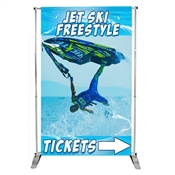 Pegasus Adjustable Banner Stands