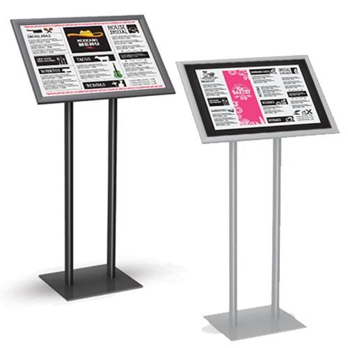 Menu Stand Pedestal Display Stand Pedestal Sign Holder