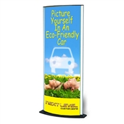 Long Elliptical Signholder