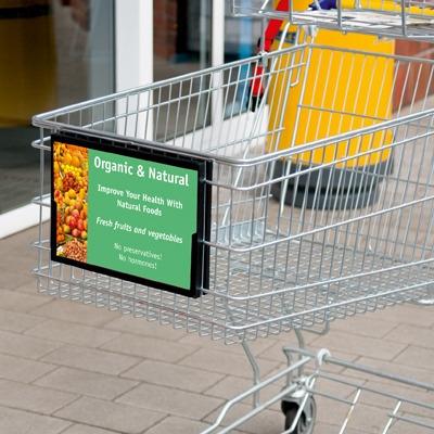 Shopping Cart Signs Shopping Cart Advertising Frames Posters