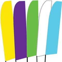 Solid Color Swooper Flags 2