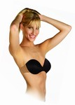Totally Backless & Strapless Bra w/adhesive clear wing (2 per pack)