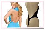 Extra Padded Backless Body Shaper with removable cookies