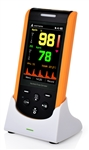 CREATIVE  SP-20 PULSE OXIMETER WITH ALARMS