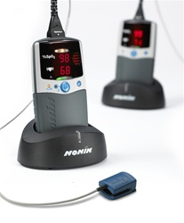 NONIN 2500C-UNIV 2500 PALMSAT CHARGER STAND WITH NIMH BATTERY